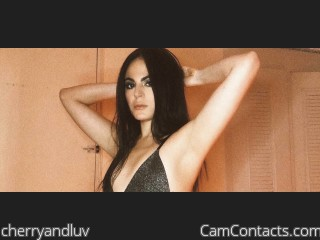 Webcam model cherryandluv from CamContacts