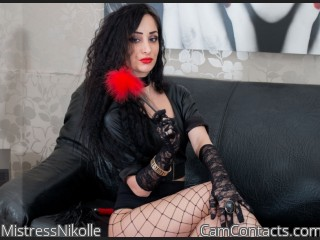 Webcam model MistressNikolle from CamContacts