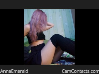 Webcam model AnnaEmerald from CamContacts