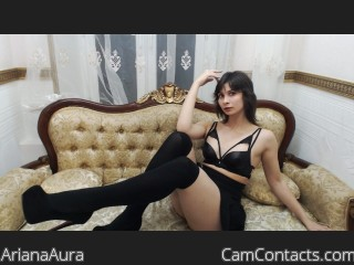 Webcam model ArianaAura from CamContacts