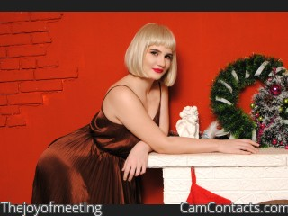 Webcam model Thejoyofmeeting from CamContacts