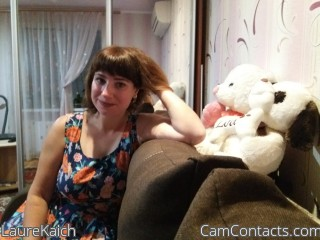 Webcam model LaureKaich from CamContacts
