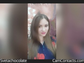 Webcam model Svetachocolate from CamContacts