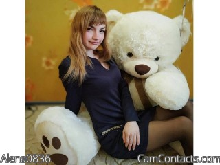 Webcam model Alena0836 from CamContacts
