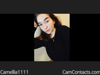 Webcam model Camellia1111 from CamContacts