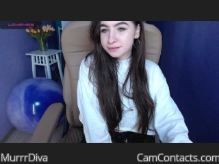 Webcam model MurrrDiva from CamContacts