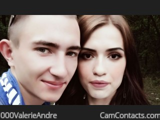 Webcam model 000ValerieAndre from CamContacts