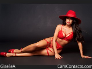 Webcam model GiselleA from CamContacts