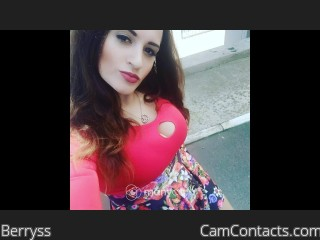 Webcam model Berryss from CamContacts