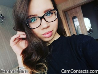 Webcam model FommeFlame from CamContacts