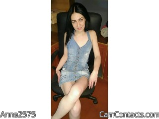 Webcam model Anna2575 from CamContacts