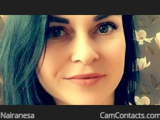 Webcam model Nairanesa from CamContacts