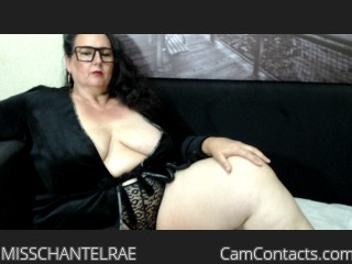 Webcam model MISSCHANTELRAE from CamContacts