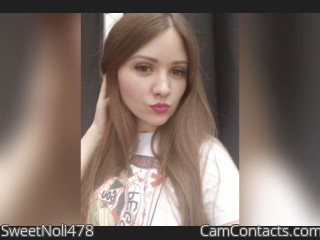 Webcam model SweetNoli478 from CamContacts