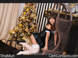 Webcam model TinaMun from CamContacts