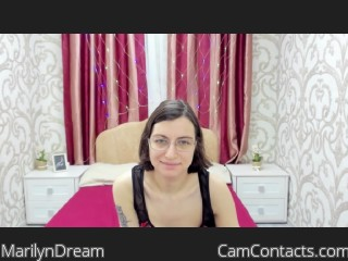 Webcam model MarilynDream from CamContacts