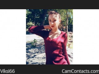 Webcam model Viksi66 from CamContacts