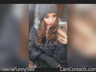 Webcam model ValeriaFunny589 from CamContacts