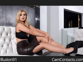 Webcam model Illusion91 from CamContacts