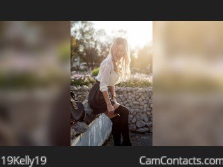 Webcam model 19Kelly19 from CamContacts