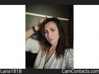Webcam model Lana1818 from CamContacts