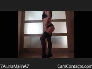 Webcam model 7ALinaMalinA7 from CamContacts