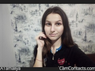 Webcam model A1amaliya from CamContacts