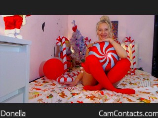 Webcam model Donella from CamContacts