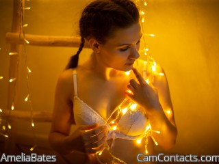 Webcam model AmeliaBates from CamContacts