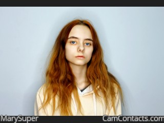 Webcam model MarySuper from CamContacts