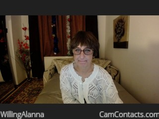Webcam model WillingAlanna from CamContacts