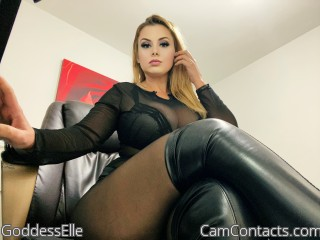 Webcam model GoddessElle from CamContacts