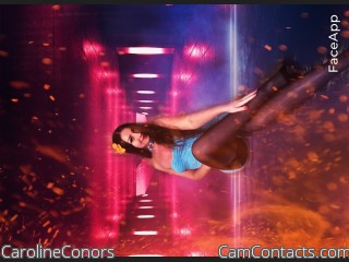 Webcam model CarolineConors from CamContacts