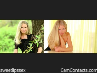 Webcam model sweetlipssex from CamContacts