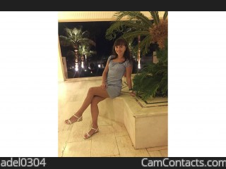 Webcam model adel0304 from CamContacts