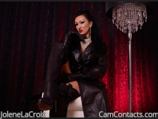 Webcam model JoleneLaCroix from CamContacts