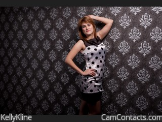 Webcam model KellyKline from CamContacts