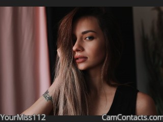 Webcam model YourMiss112 from CamContacts
