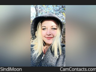 Webcam model SindiMoon from CamContacts