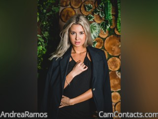 Webcam model AndreaRamos from CamContacts