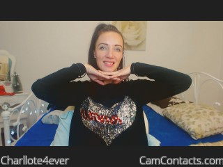 Webcam model Charllote4ever from CamContacts