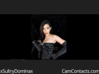 Webcam model xSultryDominax from CamContacts