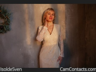 Webcam model IsoldeSven from CamContacts