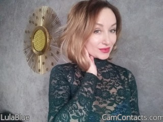Webcam model LulaBlue from CamContacts