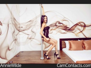 Webcam model AnnieWilde from CamContacts