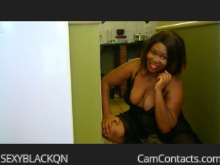 Webcam model SEXYBLACKQN from CamContacts