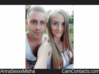 Webcam model AnnaSexxxMisha from CamContacts