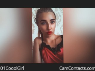 Webcam model 01CooolGirl from CamContacts