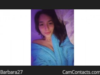 Webcam model Barbara27 from CamContacts