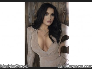 Webcam model MashkaShow0 from CamContacts